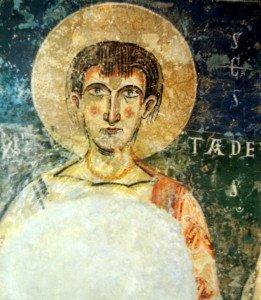 L'Apotre Thadée à St Père de Ager(XI ième )