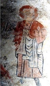 Un apotre aux grottes de Jonas(XI iéme siécle)