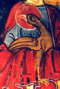 Surabondance du rouge a Tahull en catalogne espagnole(Aigle de St Jean)