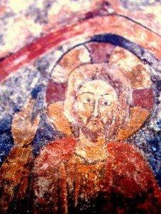 Rouges au christ de St Julien de Brioude(Fin du XII iéme siécle)