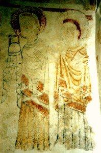 Apotres a Burnand  (XIiéme siécle)