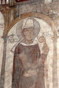 Saint Nicolas dans ses habits épiscopaux