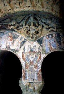 La Jérusalem Celeste entre les rois mages à St Aubin d'Angers
