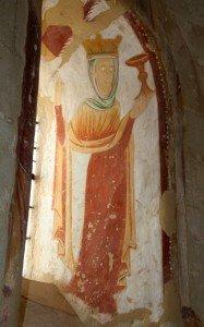 Image de l'Eglise,(embrasure droite)