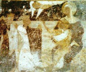 l'adoration des mages(fin du XII iéme)