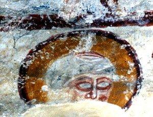 Visage de St Pierre (avant restauration)