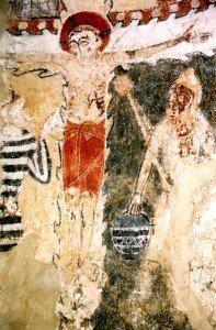 Crucifixion à Caldégas