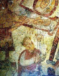 Descente de croix aux grottes de Jonas (Puy de Dome)