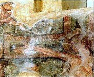 Christ de la crucifixion a Montgauch (Ariége)