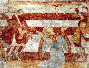 La lapidation de Saint Eutrope