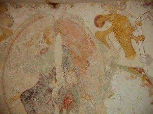 Christ en majesté et aigle de St Jean