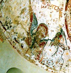 Image du lion de St Marc (Fin du XII iéme siécle)