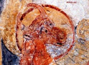 Detail du taureau de St Luc