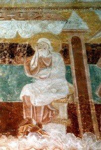 Joseph et tour de Bethléem (Scéne de la nativité)