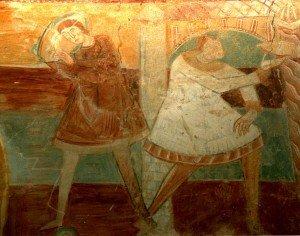 Deux serviteurs aux Noces de Cana