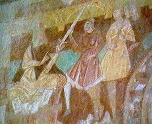 Hérode sur son trone arme ses soldats