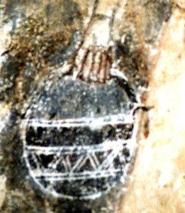 Le sceau rempli de vinaigre du porte éponge