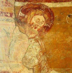 Le christ devant Hérode (détail)