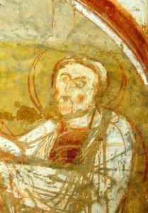 Le vieillard Siméon accueillant l'enfant (détail de la Présentation au Temple)