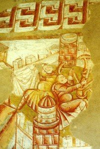 Personnage sur les toits de Jérusalem