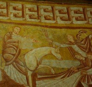 L'entrée du christ à Jérusalem(détail)